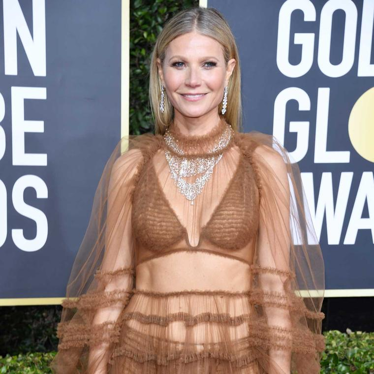 Gwyneth Paltrow Golden Globes Bulgari jewels