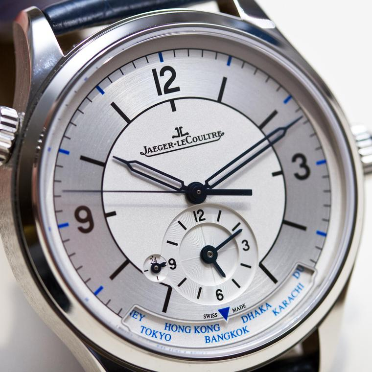Jaeger-LeCoultre Master Control Geographic watch