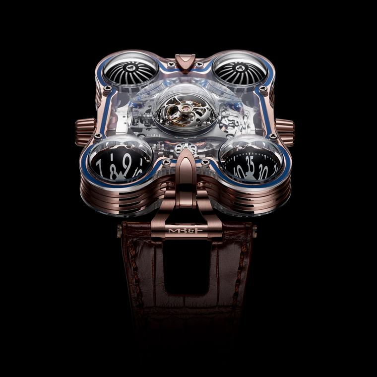MB&F HM6 SV red gold watch