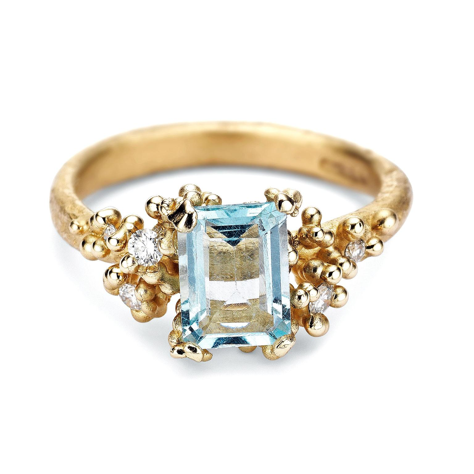 Ruth Tomlinson aquamarine ring