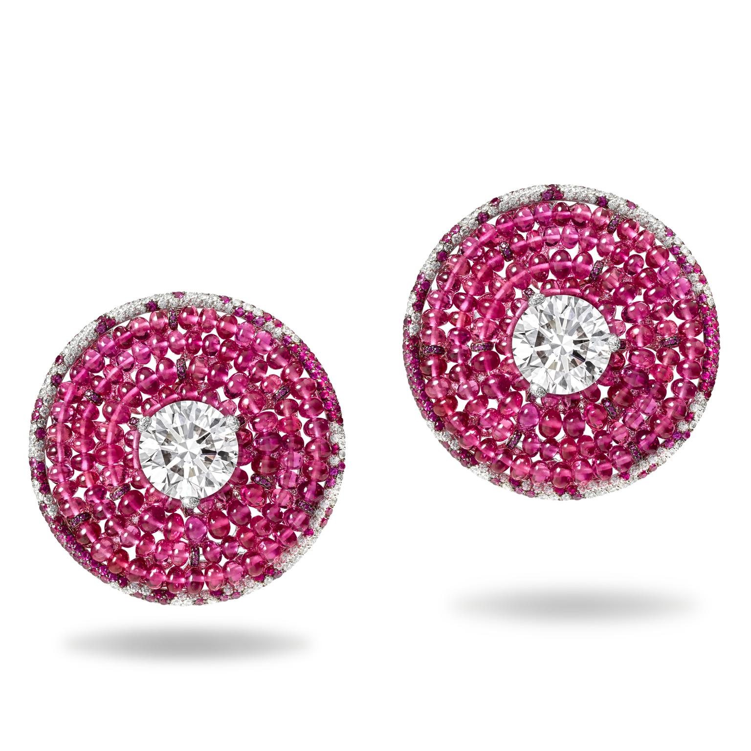 de GRISOGONO Love on the Rocks earrings