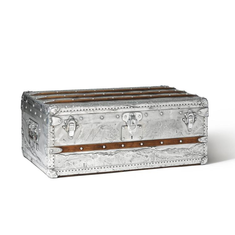 Louis Vuitton aluminium steamer trunk 1892