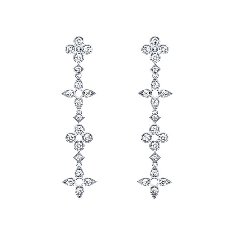 Louis Vuitton Collection Monogram Dentelle earrings