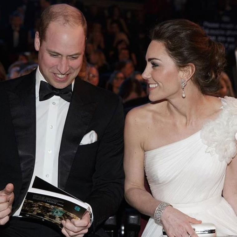 Cambridges at BAFTAS 2019