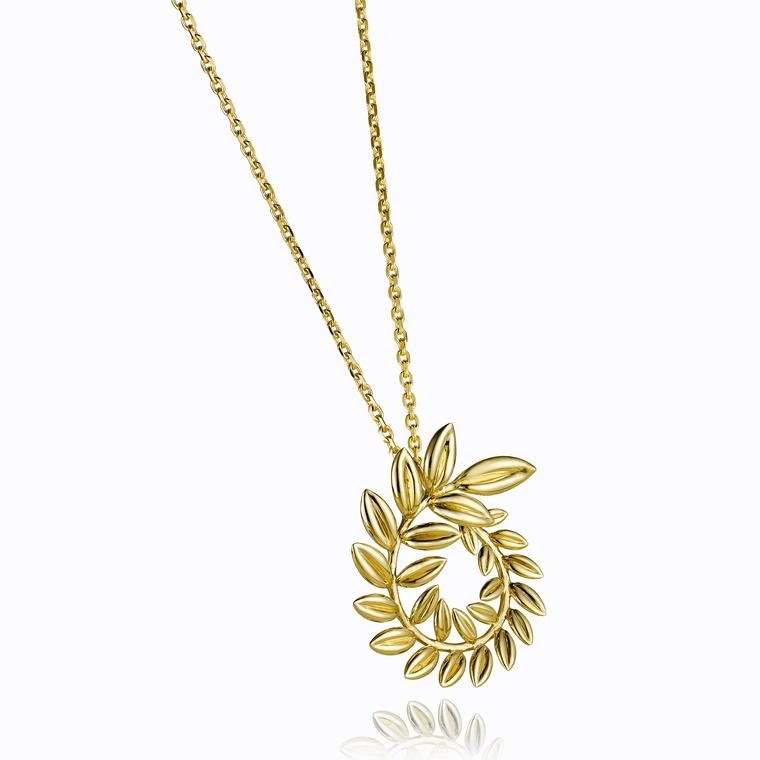 Chopard Fairmined yellow gold necklace