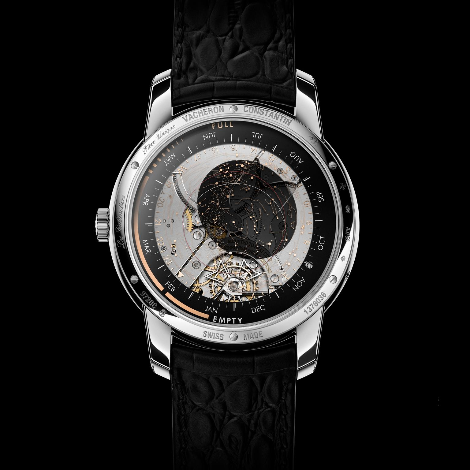Vacheron Constantin Celestia watch back