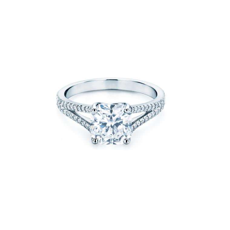 Tiffany Lucida square-cut engagement ring