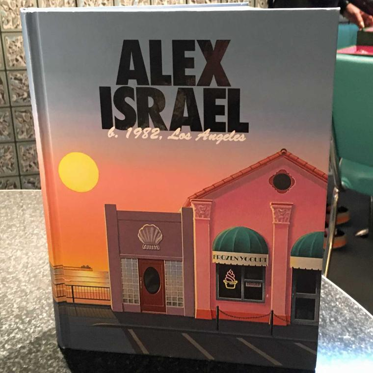 Alex Israel book