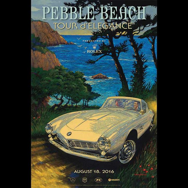 Pebble Beach-poster-Bulgari