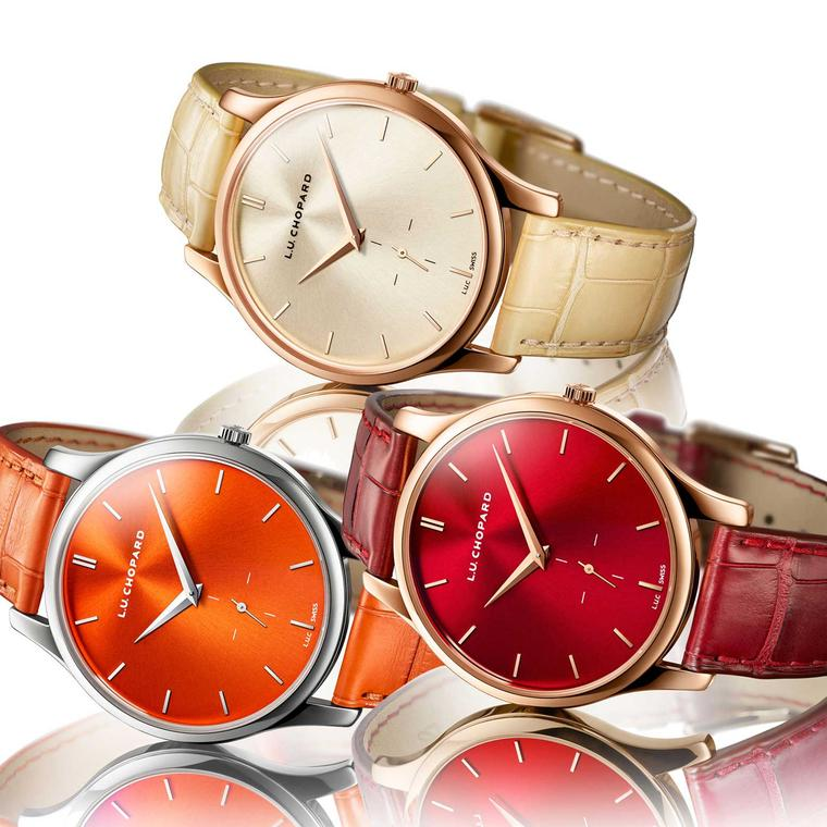 Subtle colours add a degree of sophistication and style to these luxury men's watches