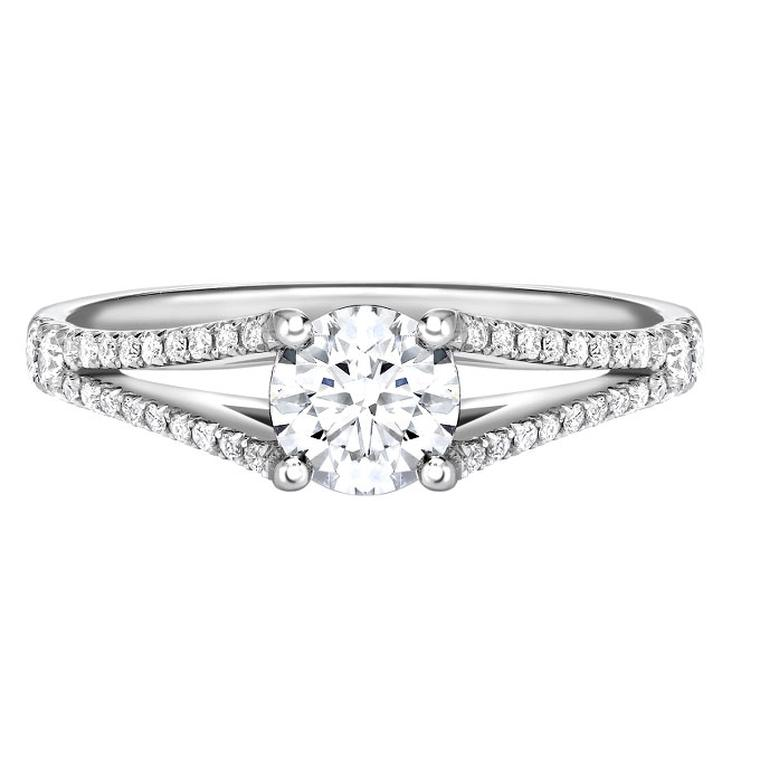 Ingle & Rhode Canadian diamond engagement ring
