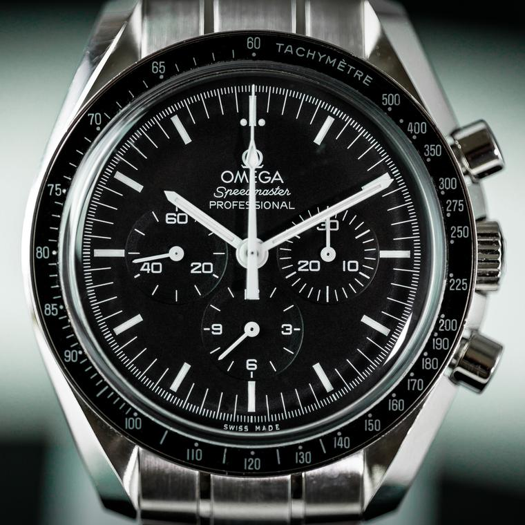 Omega Speedmaster watch face