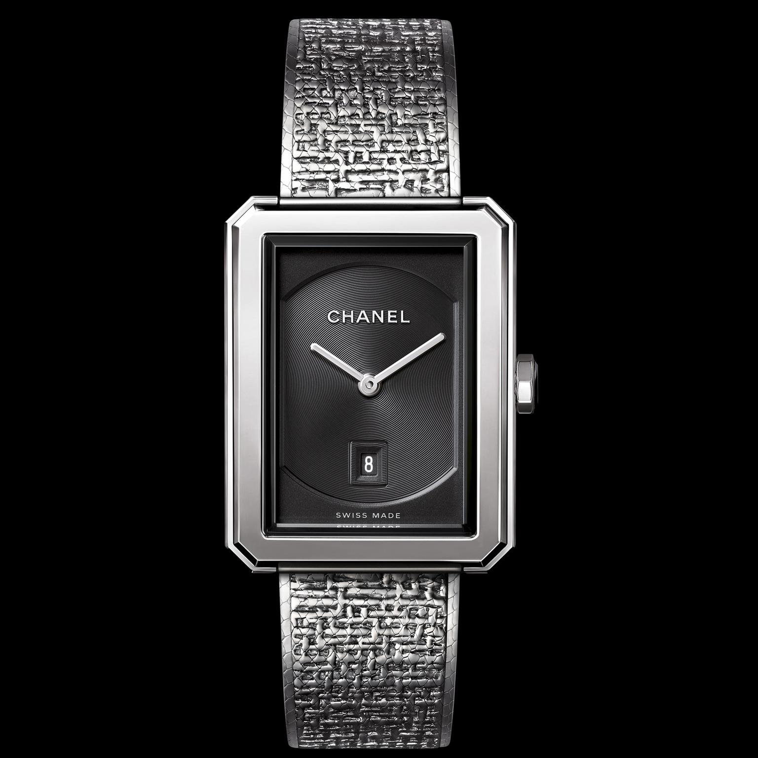 Chanel Boy.Friend Tweet watch