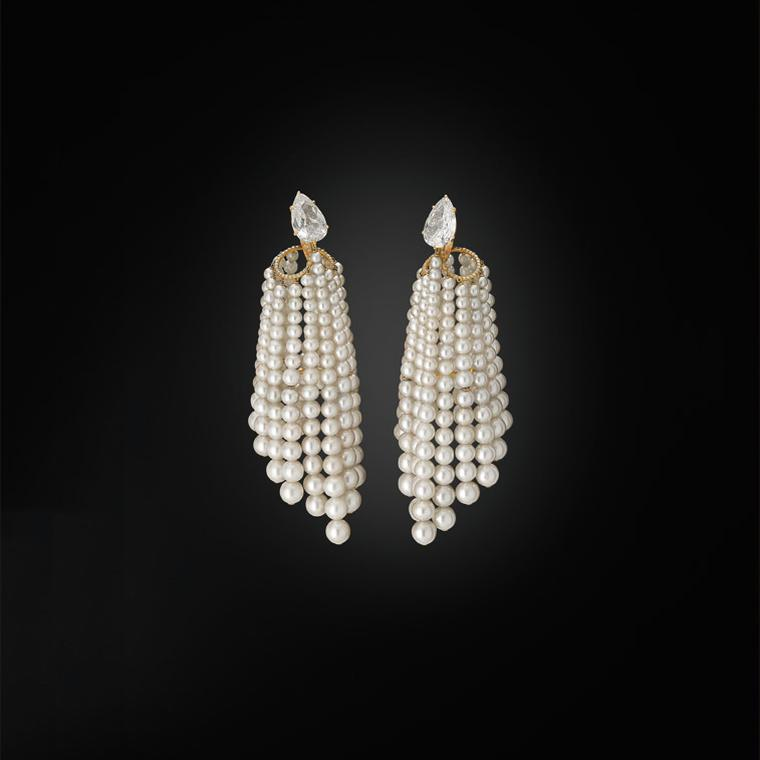 JAR pearl earrings