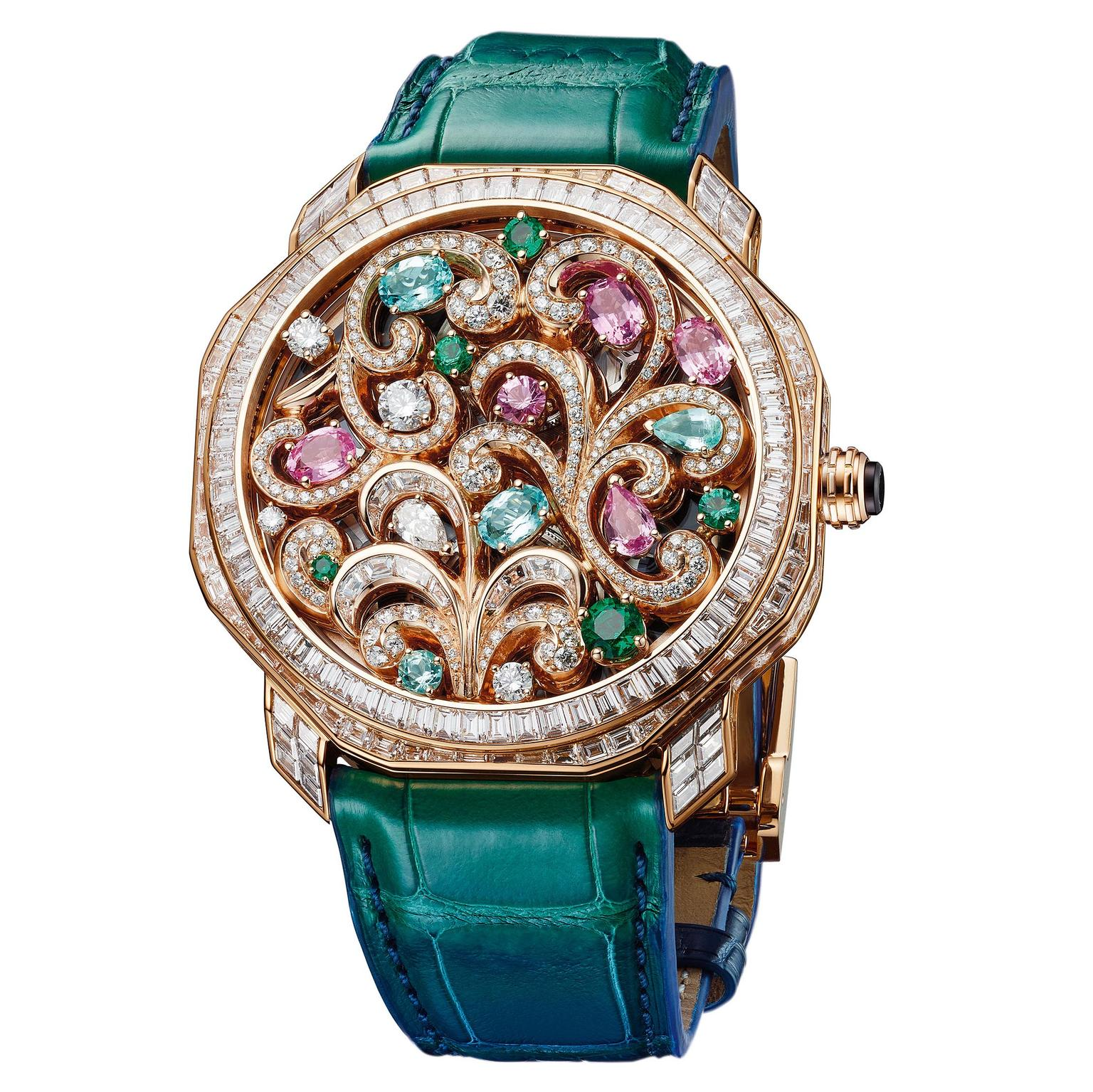 Octo Roma watch by Bulgari