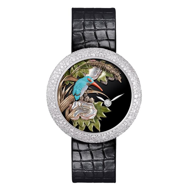 Mademoiselle Privé Coromandel Glyptic watch
