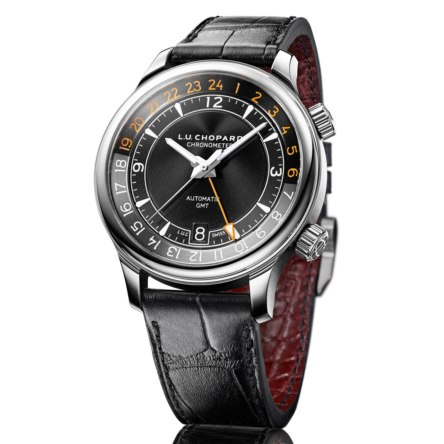 Chopard L.U.C GMT One watch in steel