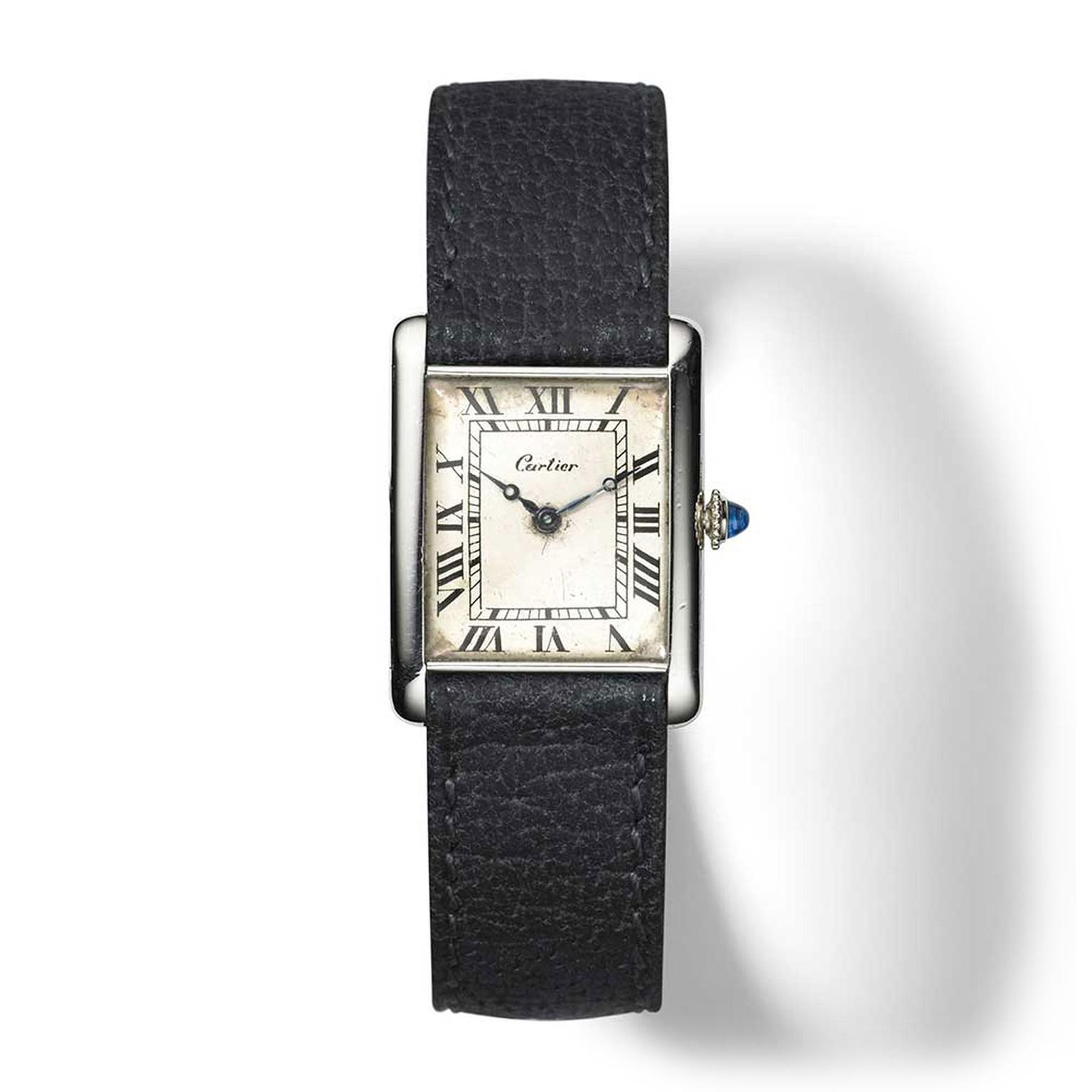 War provided an unconventional muse for Cartier when, in 1917, it developed the legendary Tank watch