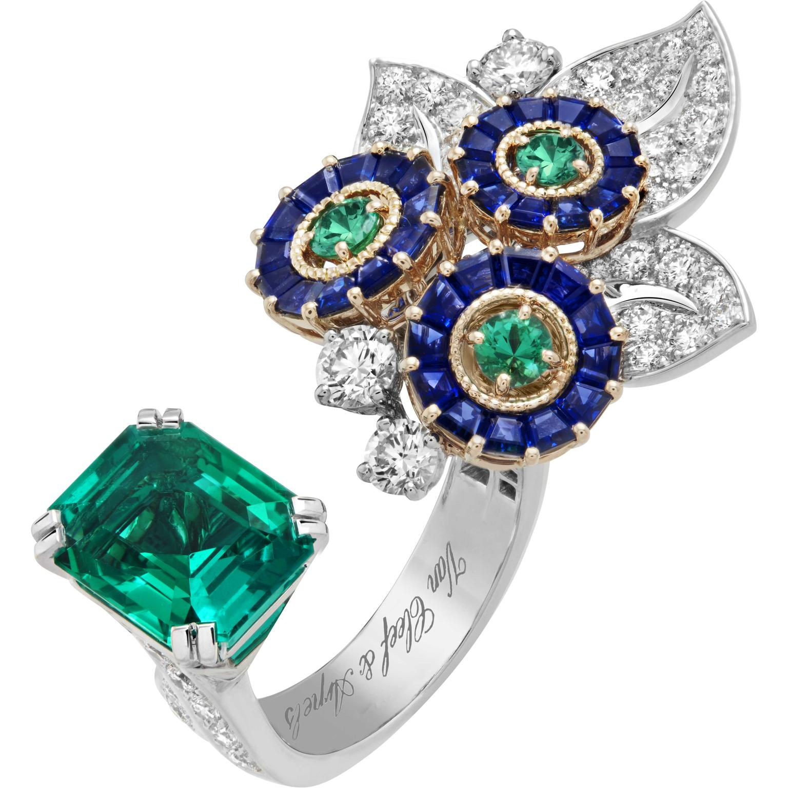 Van Cleef Arpels Flora between the finger ring