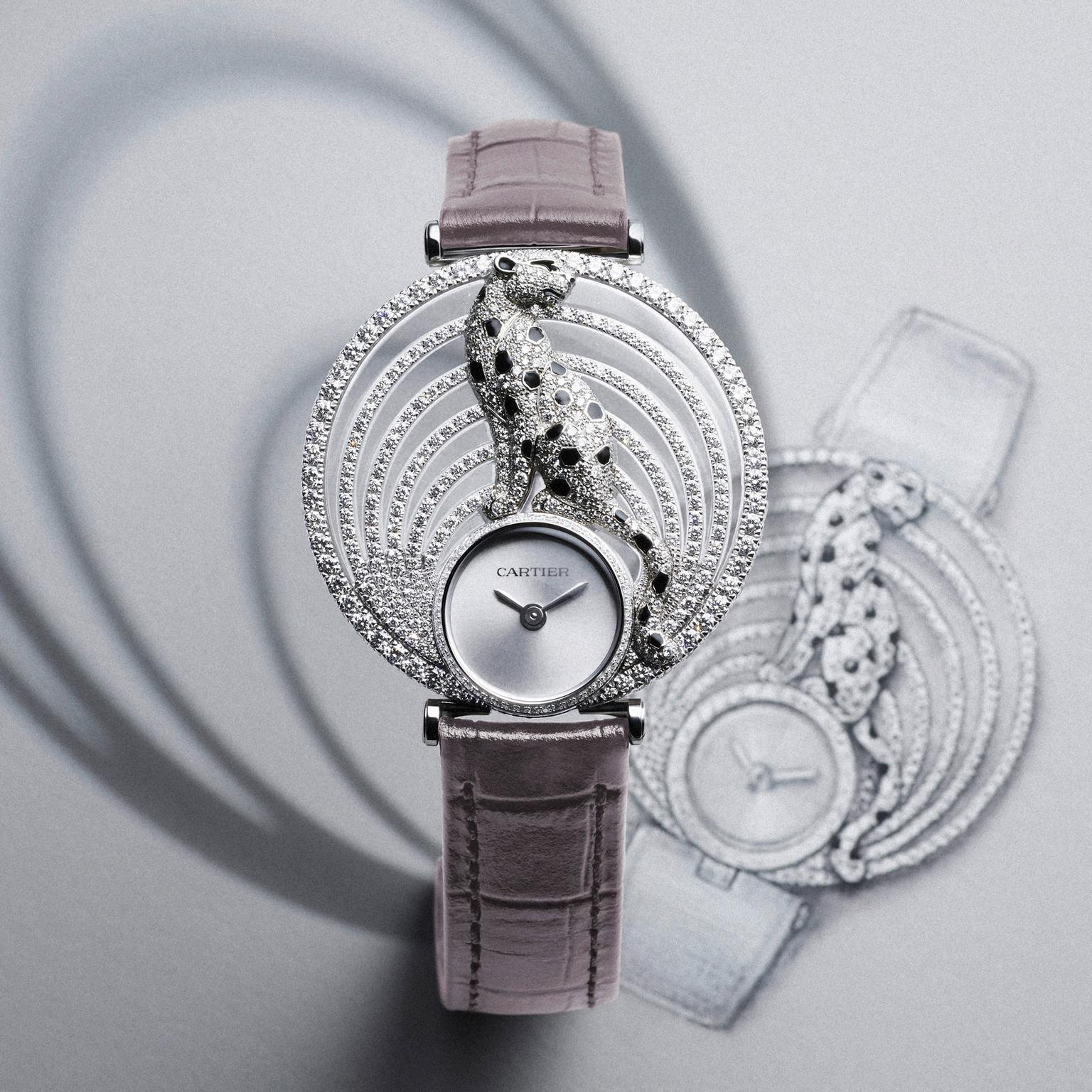 Panth 232 Re Royale Watch Cartier The Jewellery Editor