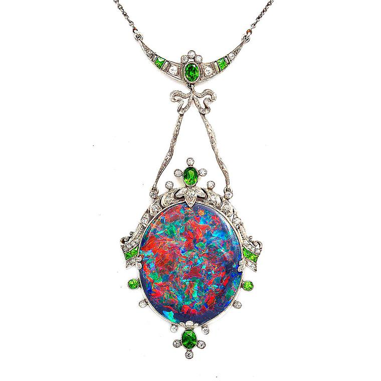 The superstitious history of opal jewellery