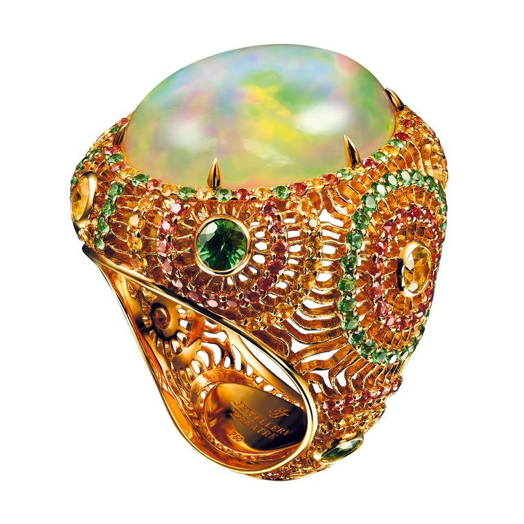 Jewellery Theatre Ethiopian opal ring