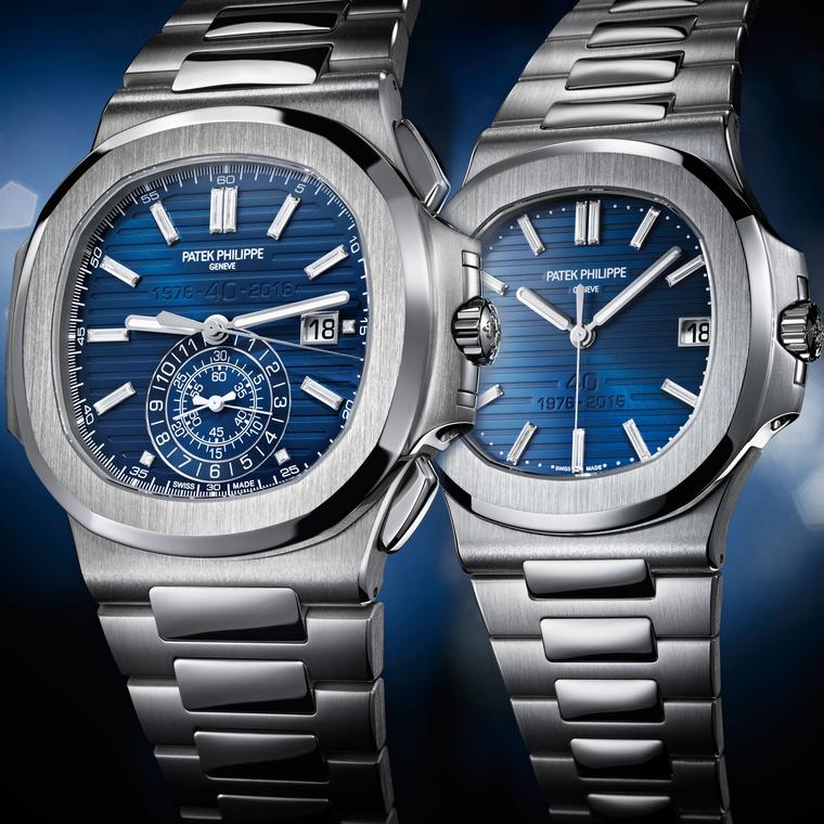 40th anniversary limited edition models of the Nautilus