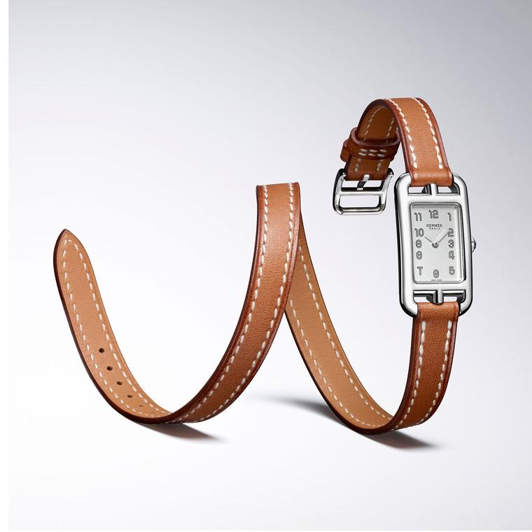 Hermes Nantucket with a double strap