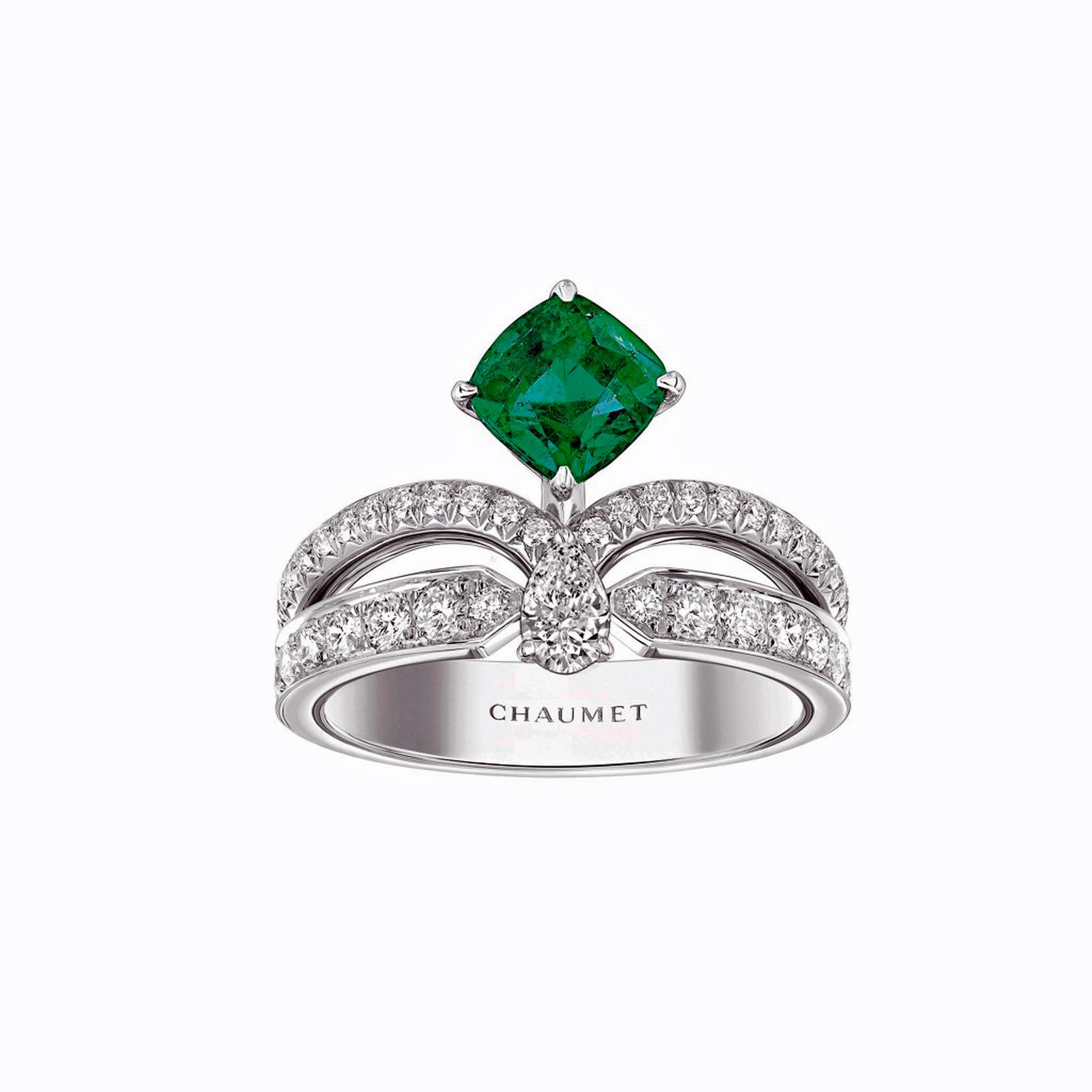 Chaumet Joséphine emerald ring