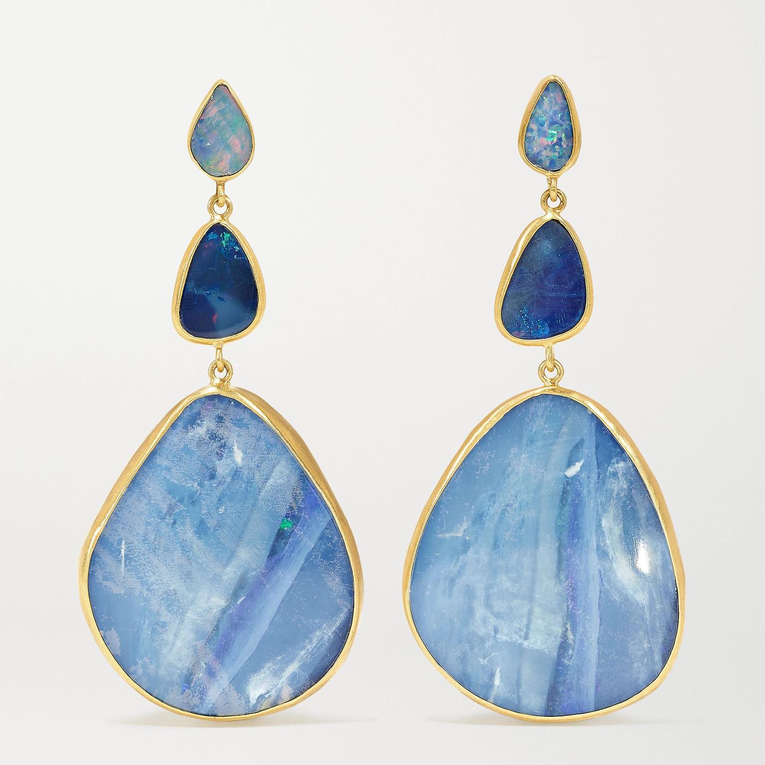 Opal earrings by Pippa Small