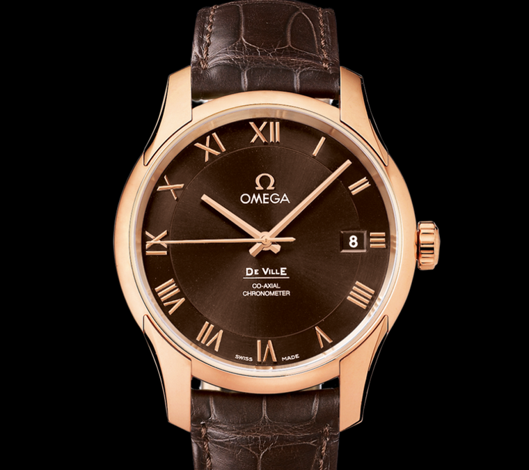 De Ville Co-Axial watch in red gold