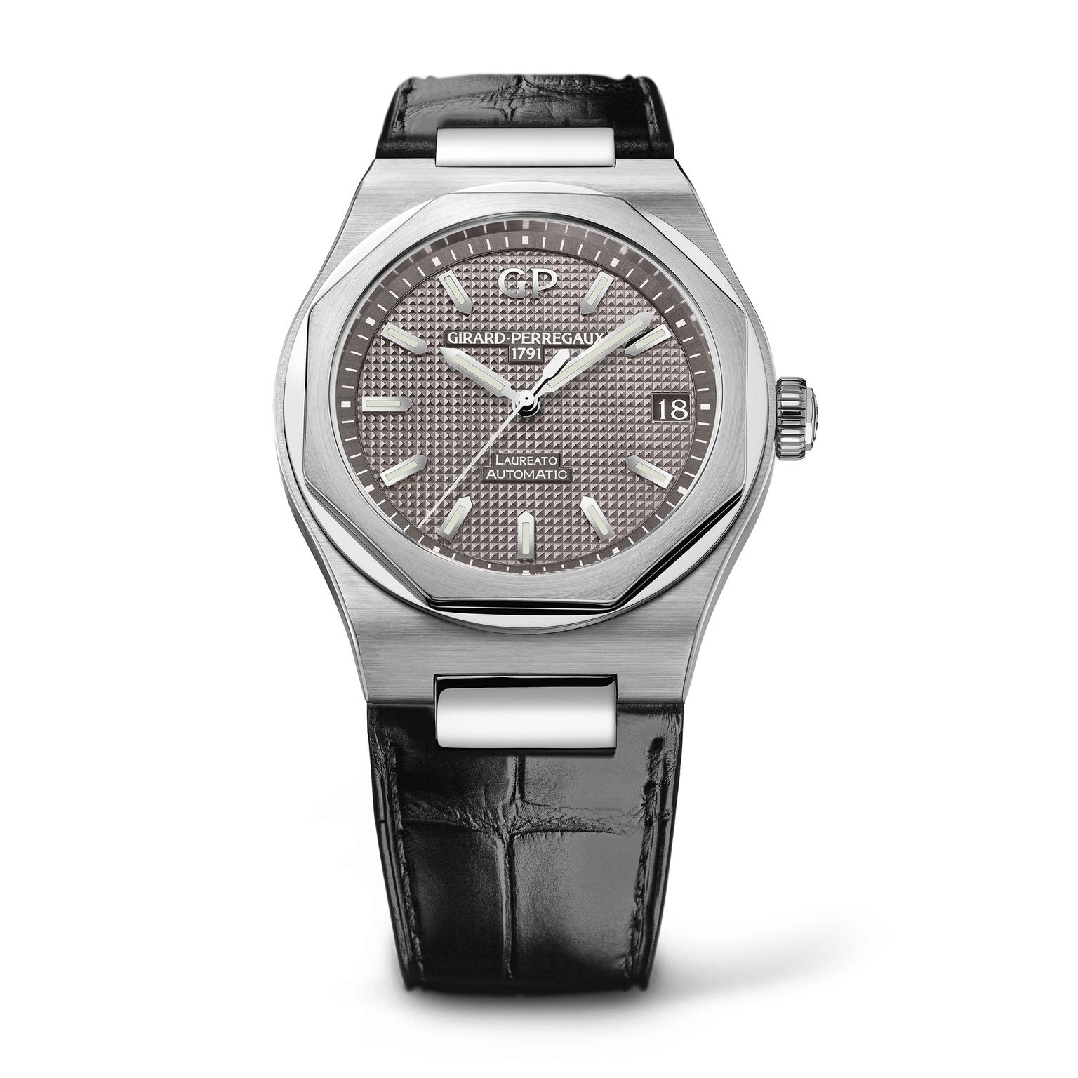 Girard-Perregaux 42mm Laureato watch