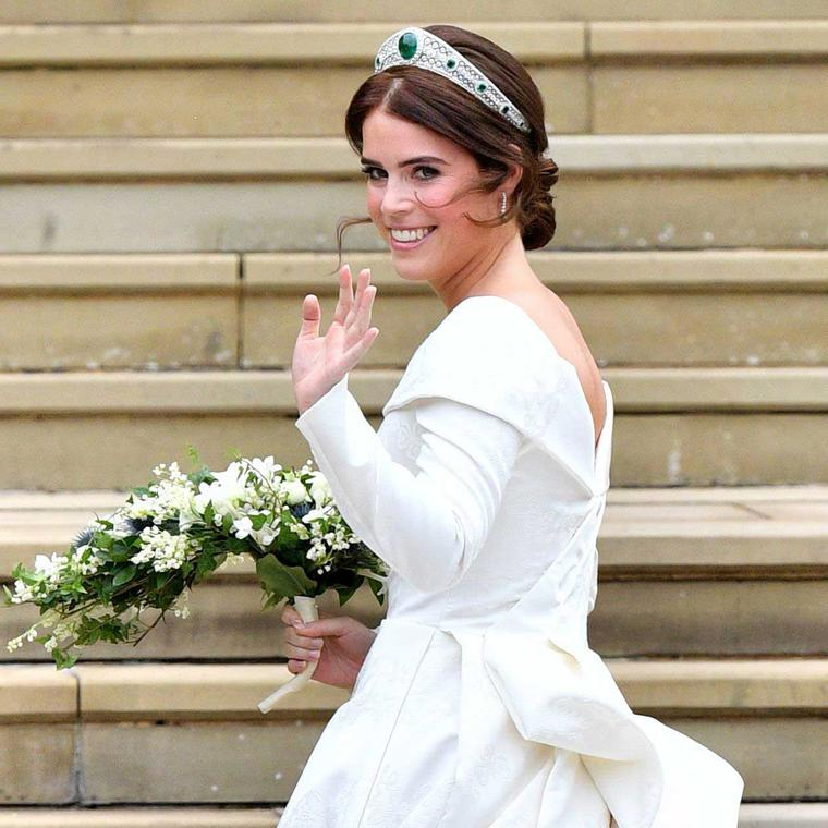 A brilliant choice: Princess Eugenie's wedding tiara