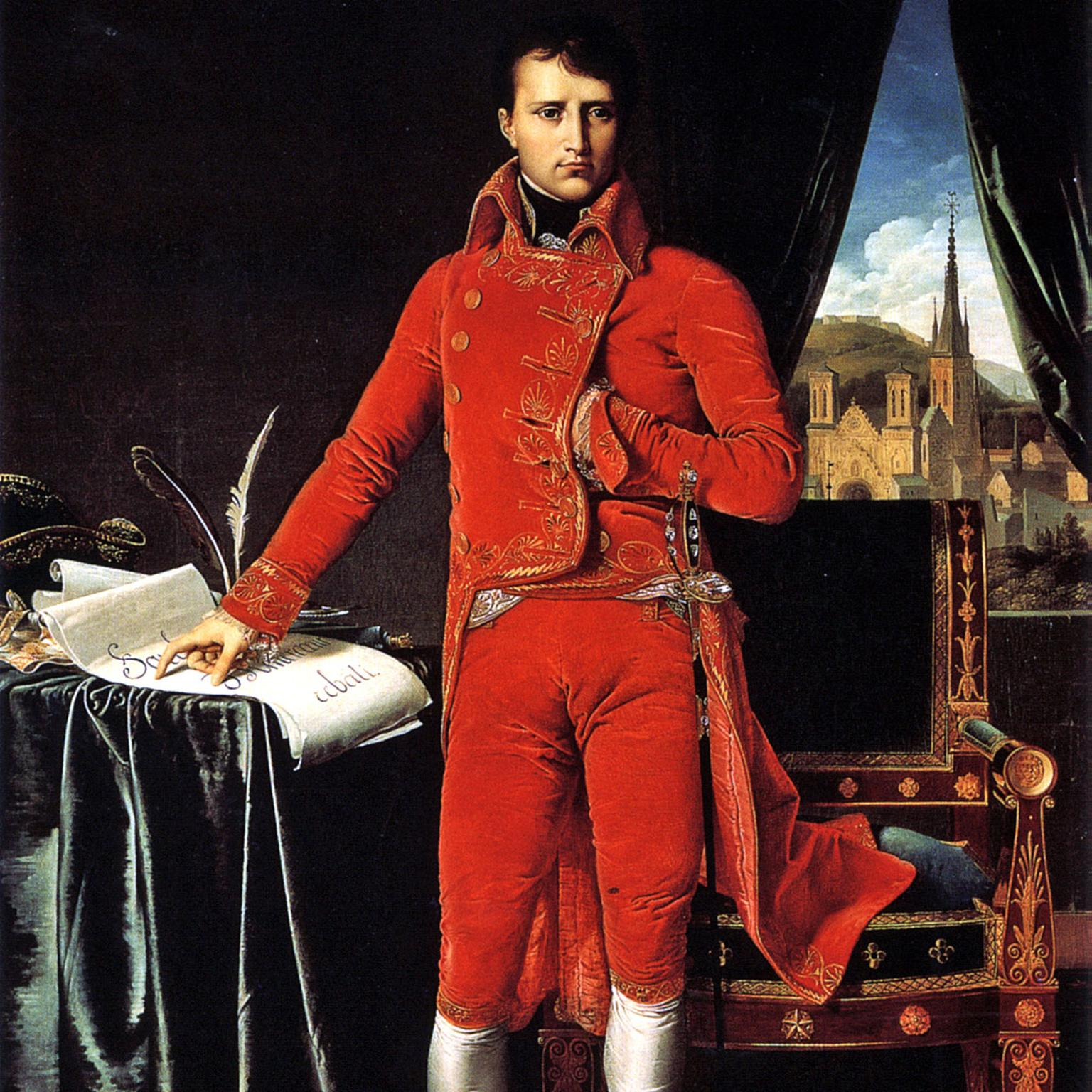 Ingres portrait of Napoleon