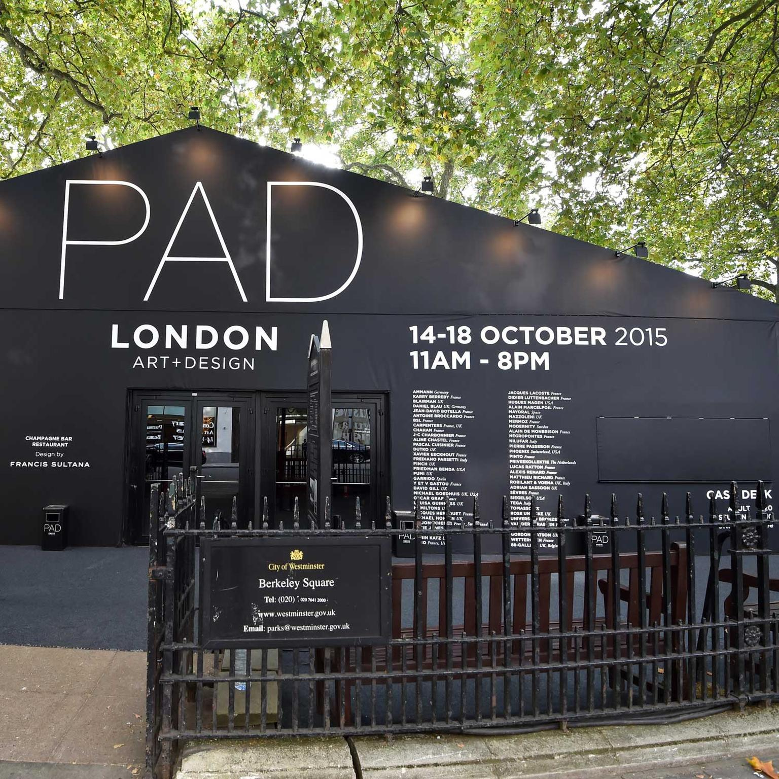 PAD London Berkeley Square 2015
