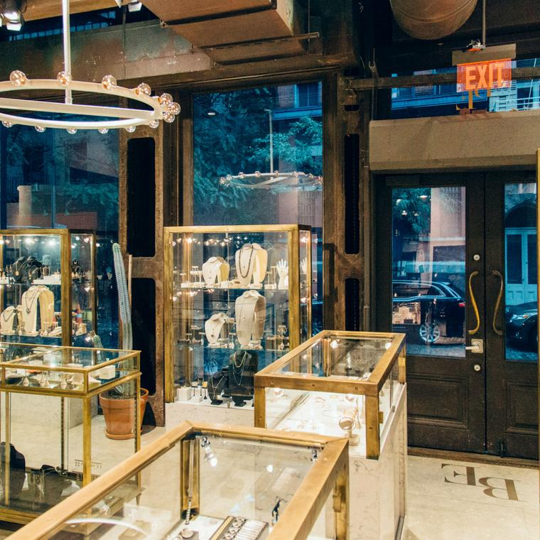 Broken English jewellery boutique in New York