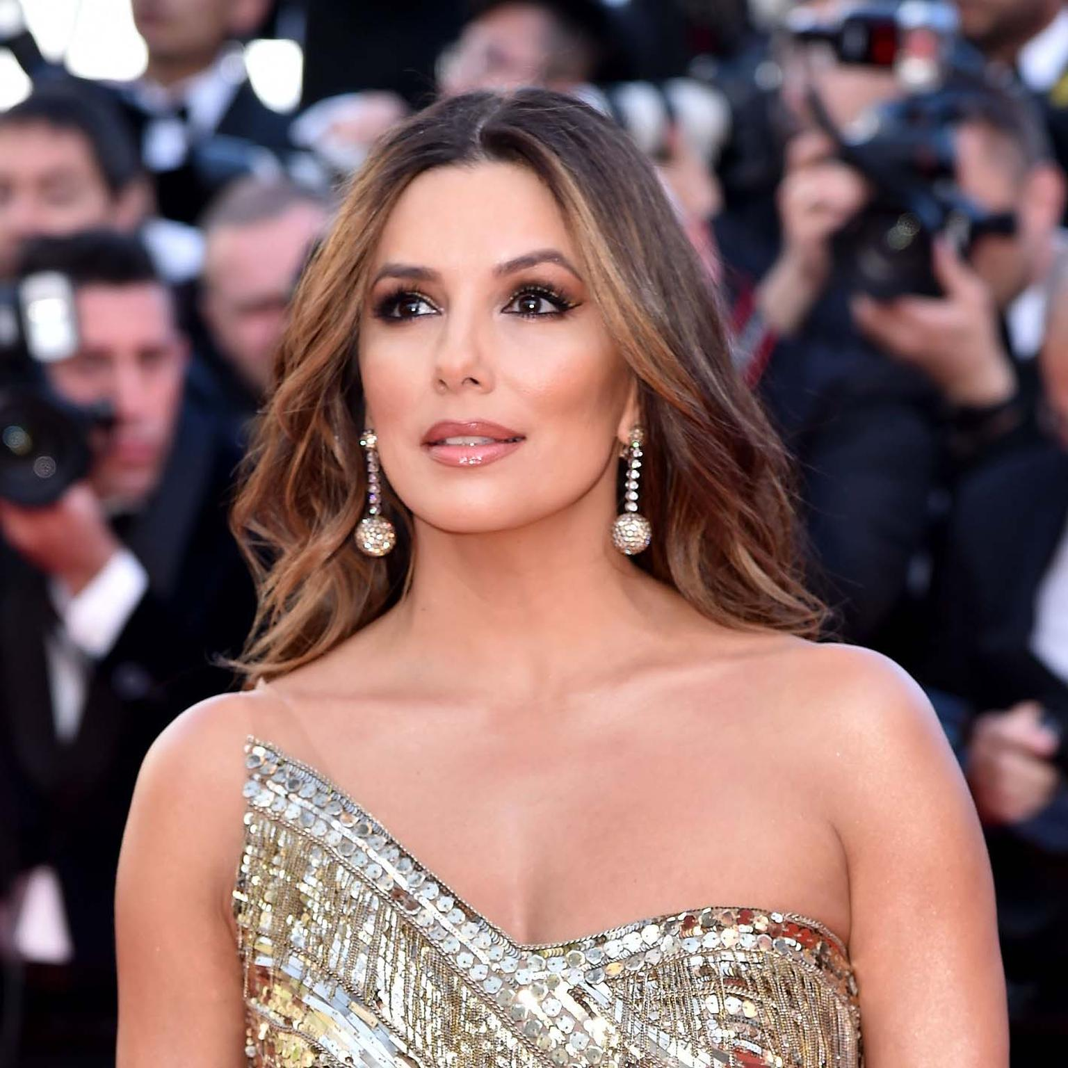Eva Longoria in de GRISOGONO jewels Cannes 2019