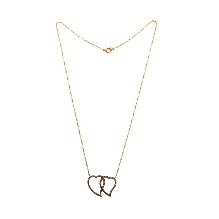 Melody Rodgers heart necklace