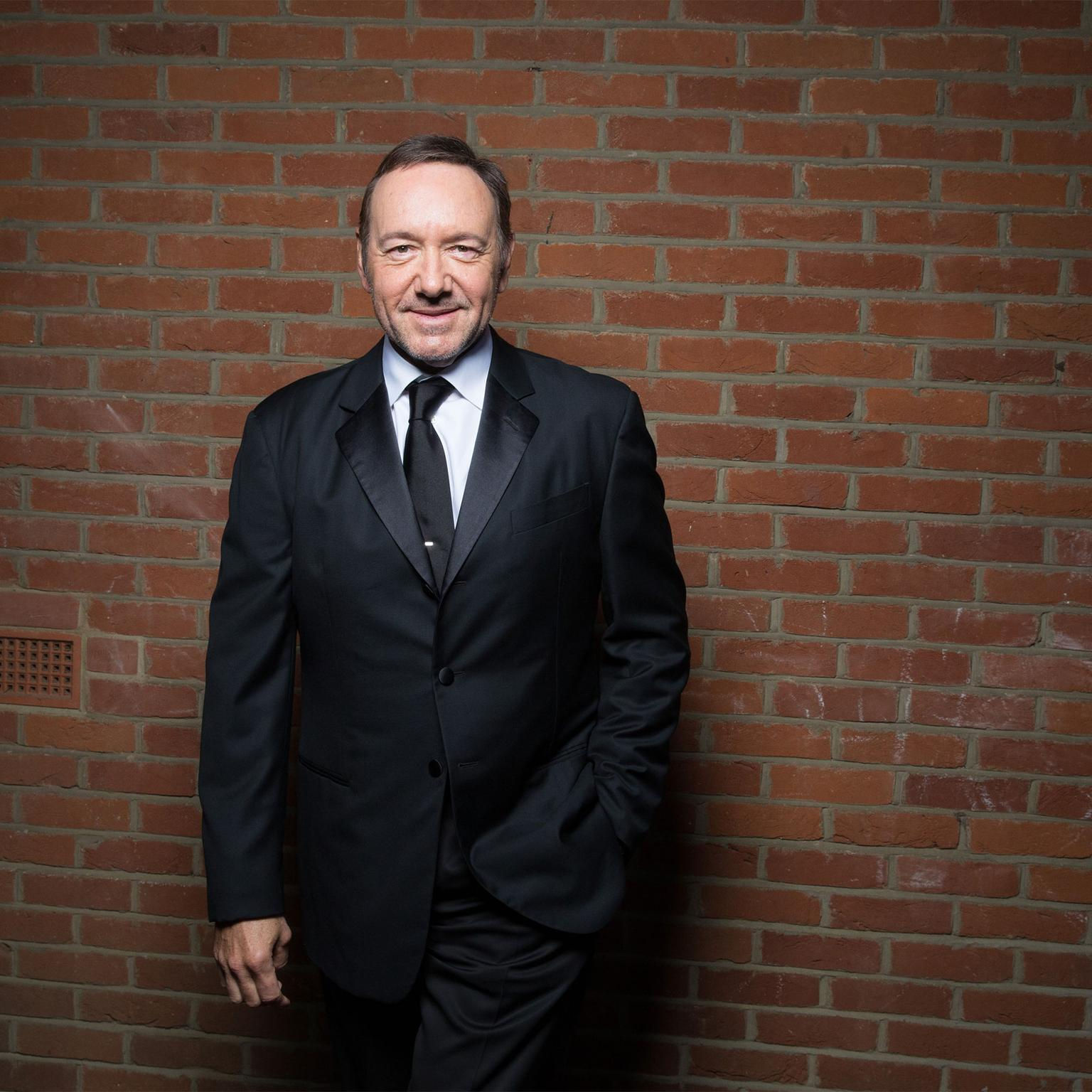Kevin Spacey at the Elton John AIDS Foundation