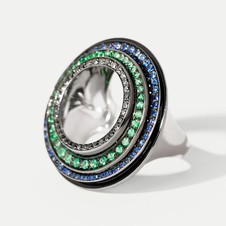 Hannah Martin Sovereign Statement  Ring