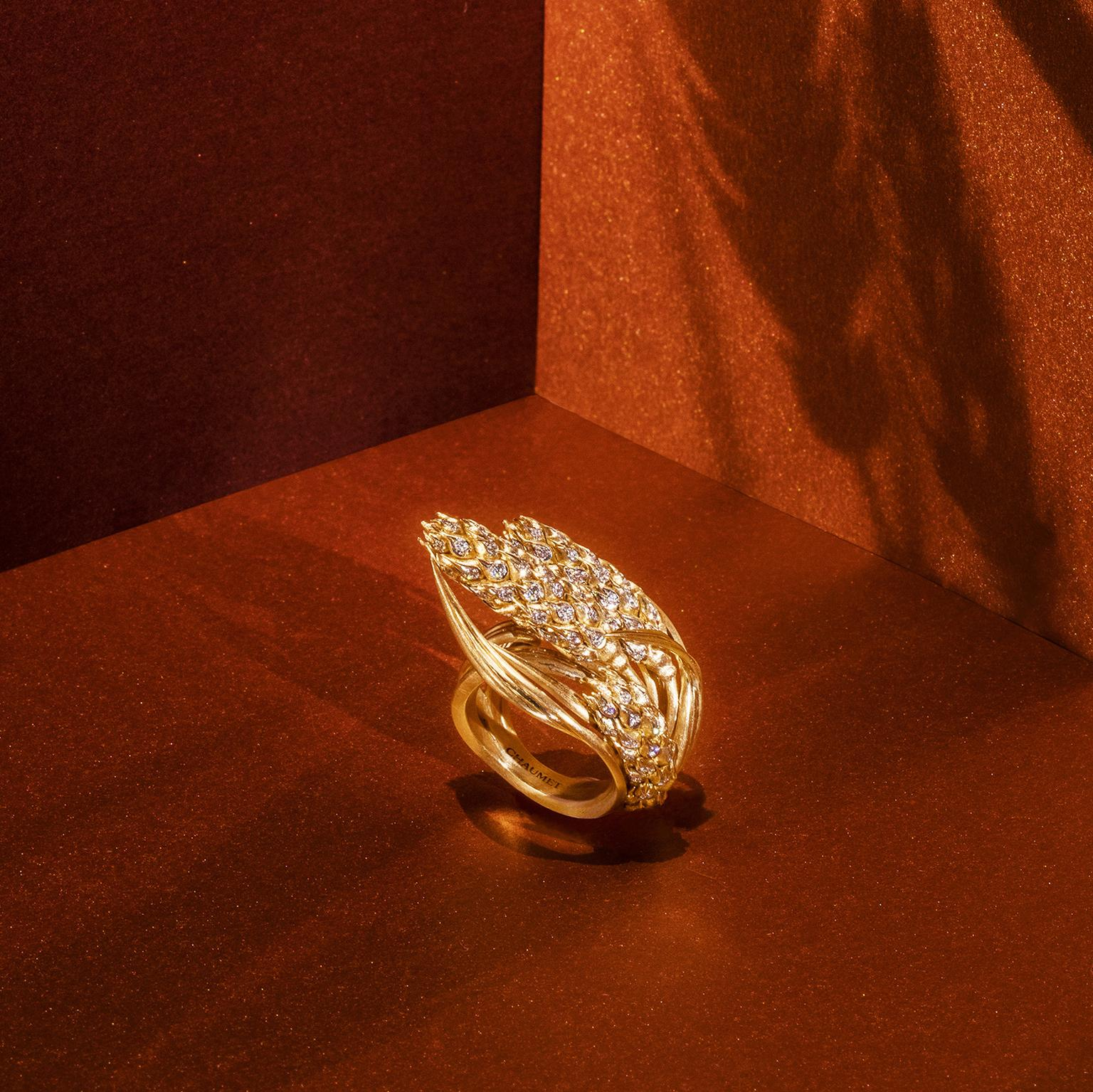 Chaumet L'Epi de Blé wheat ring
