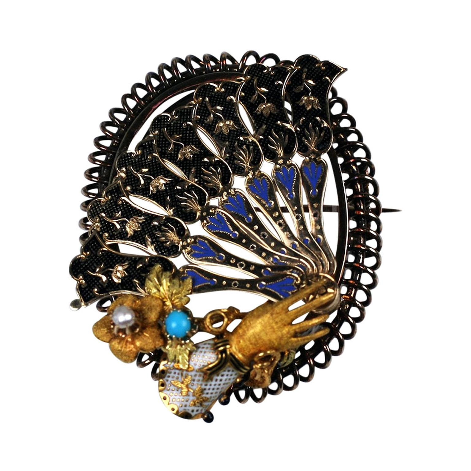 Vintage Luxury brooch