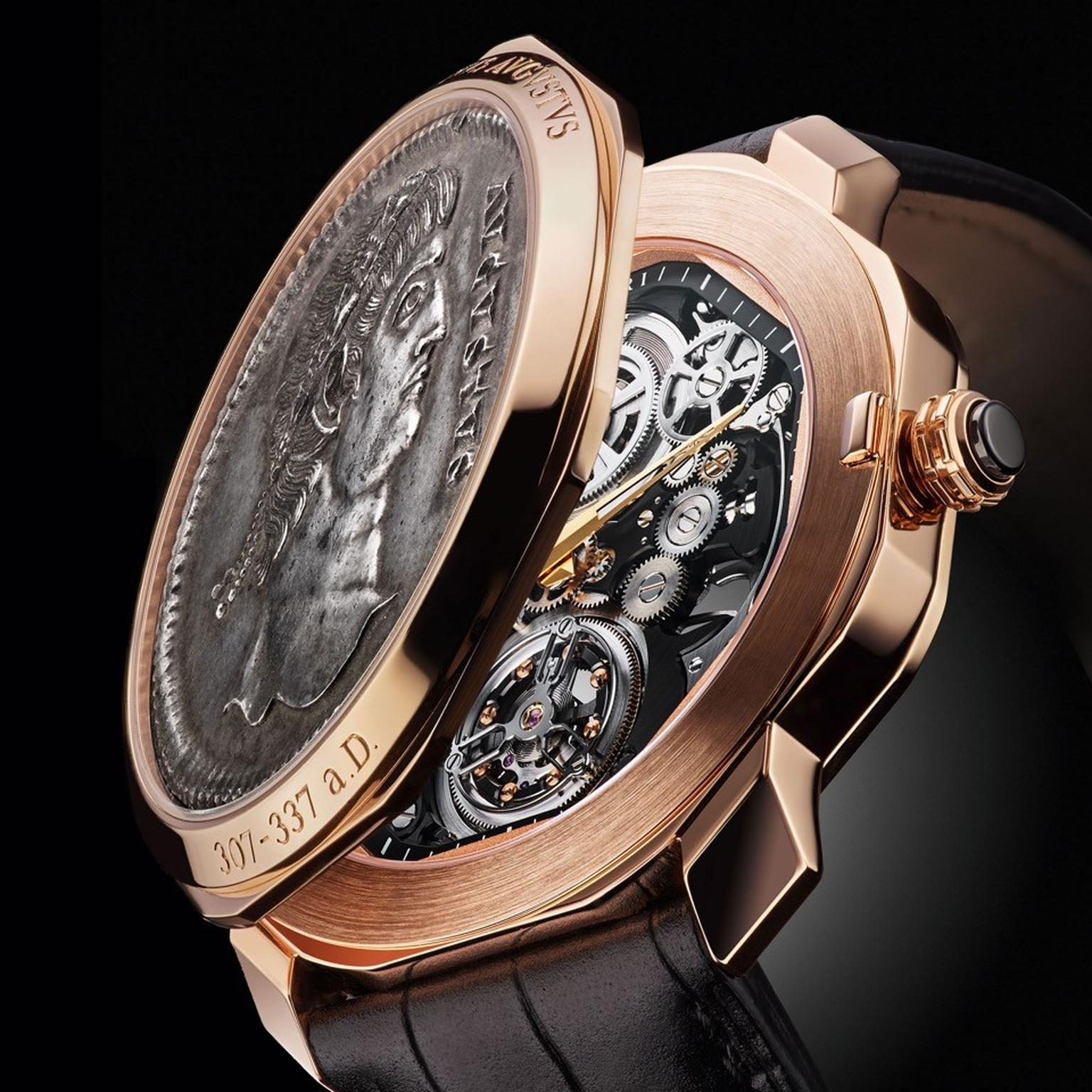 Bulgari Octo Monete Finissimo Skeleton Flying Tourbillon