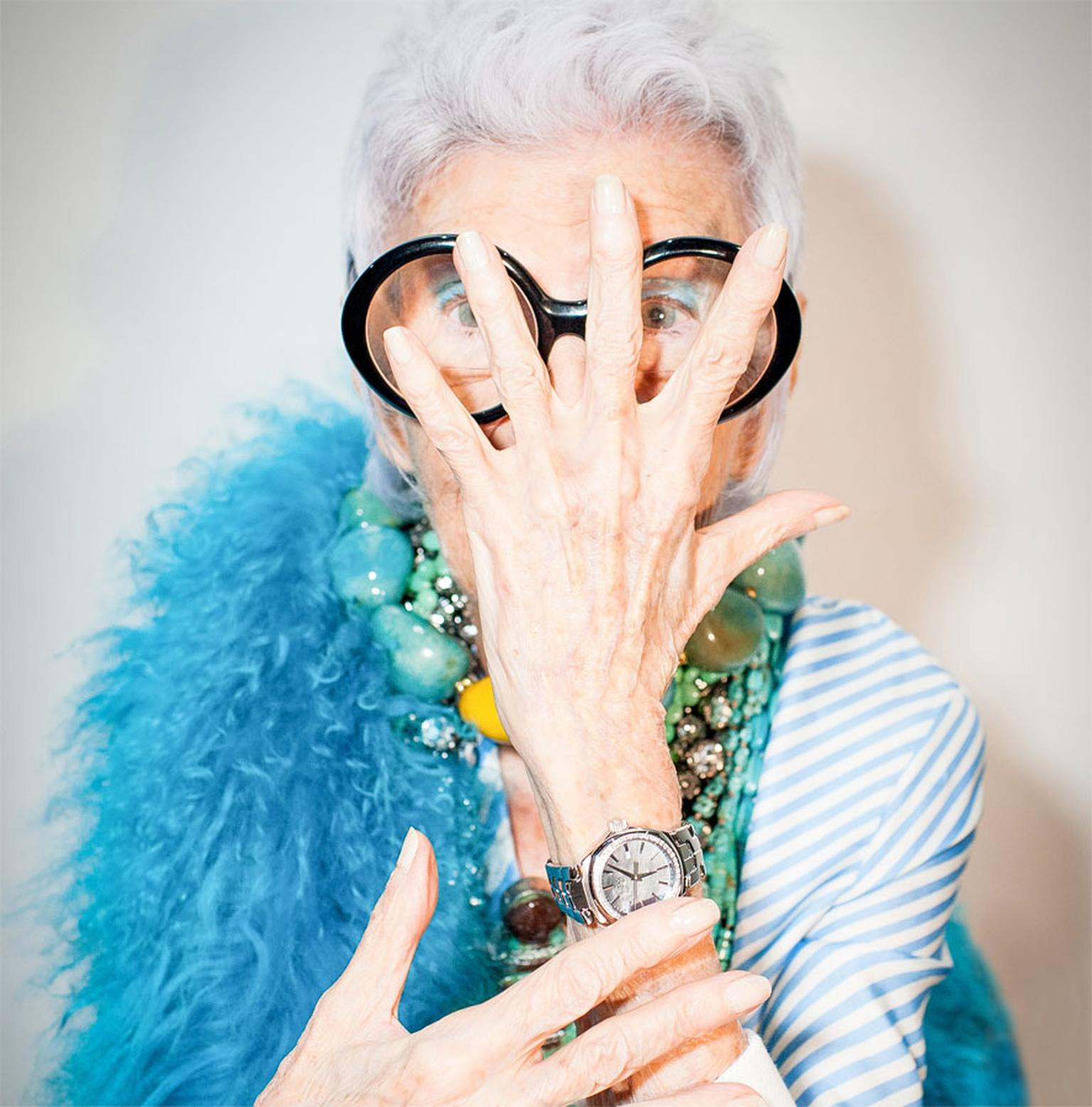 Iris Apfel is TAG Heuer's newest friend