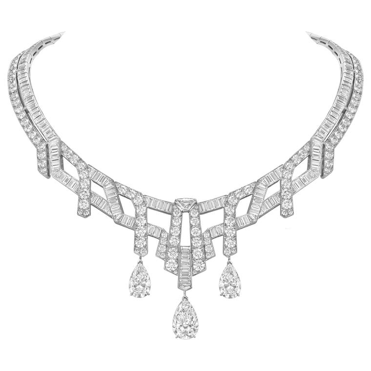 Van Cleef & Arpels Merveilles d'émeraudes necklace with diamonds