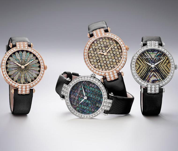 Harry Winston Premier Precious Weaving 36mm collection