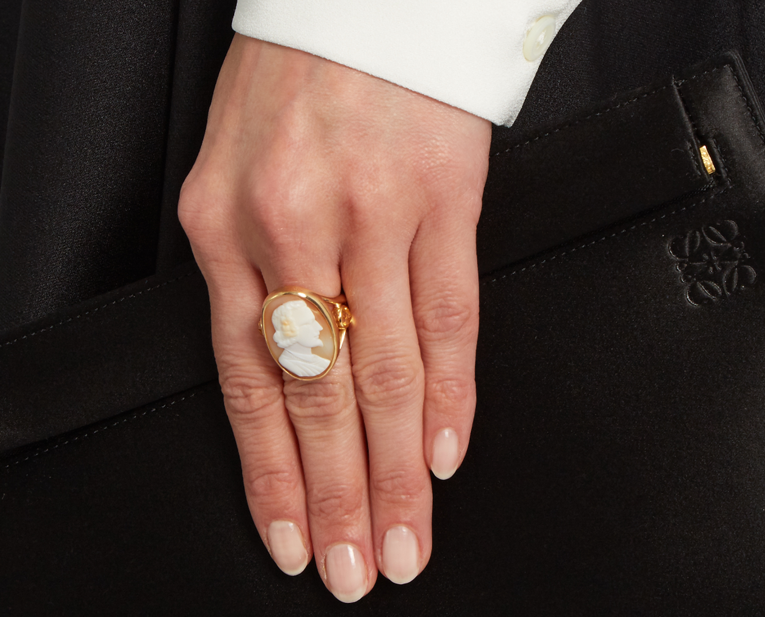 Brigid Blanco cameo ring