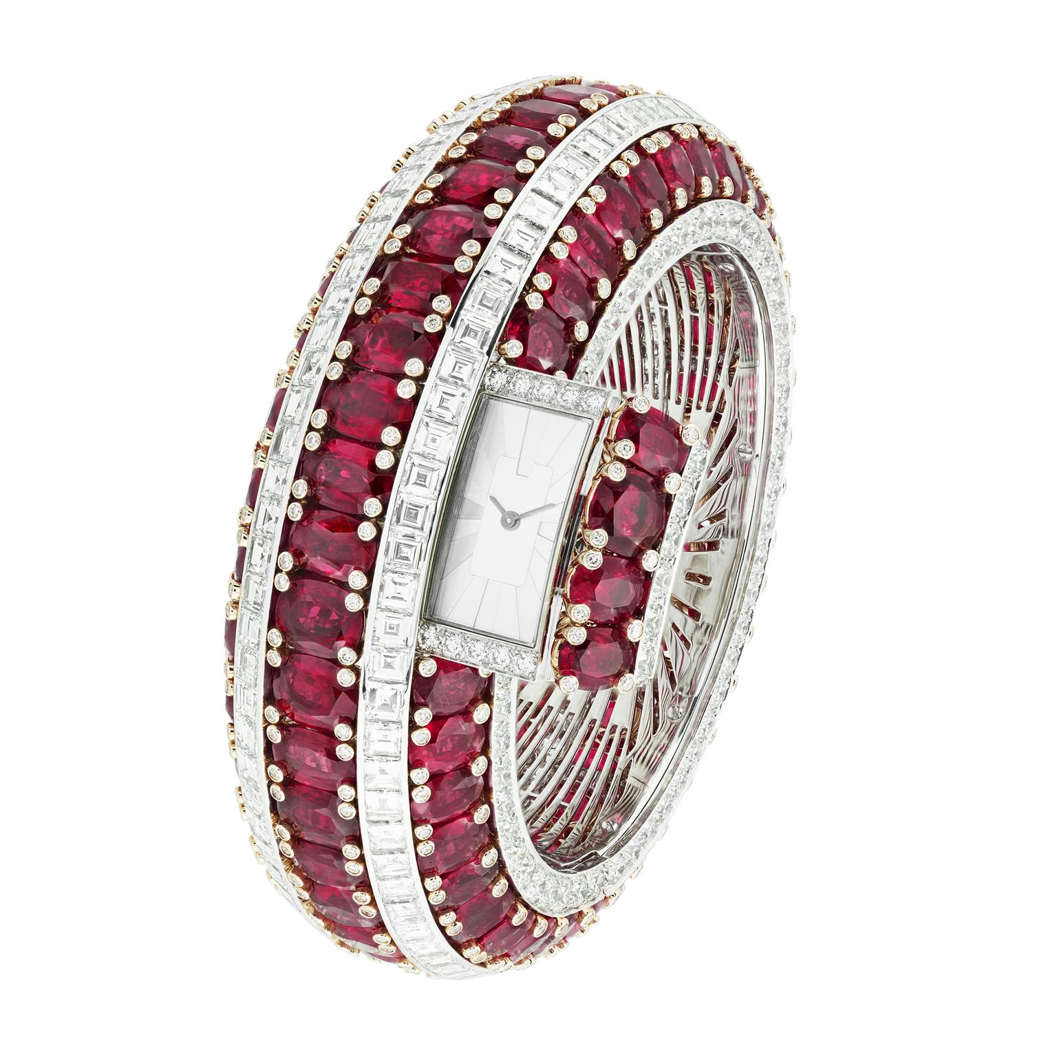Van Cleef & Arpels Ruby Secret watch