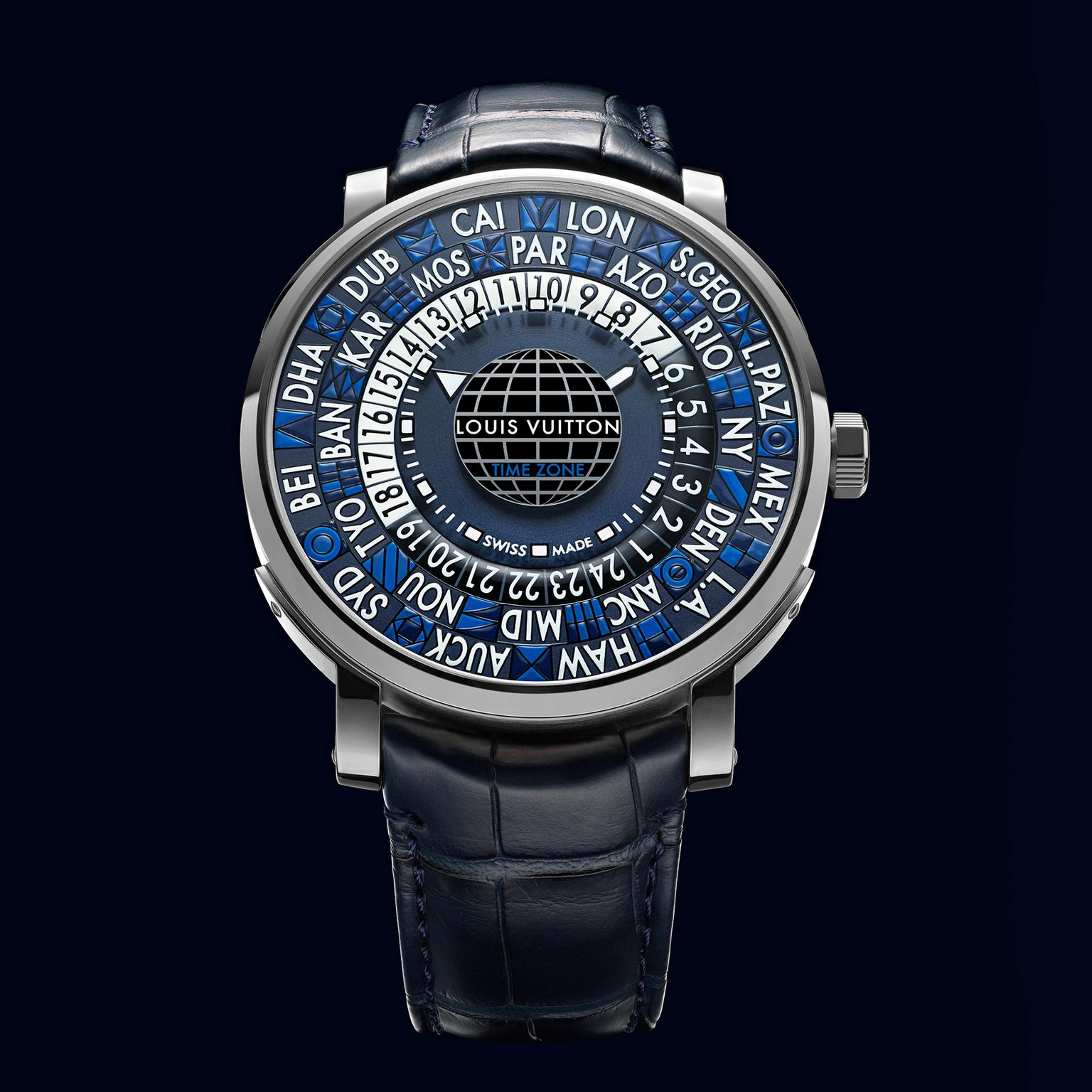 Louis Vuitton Escale Time Zone Blue watch