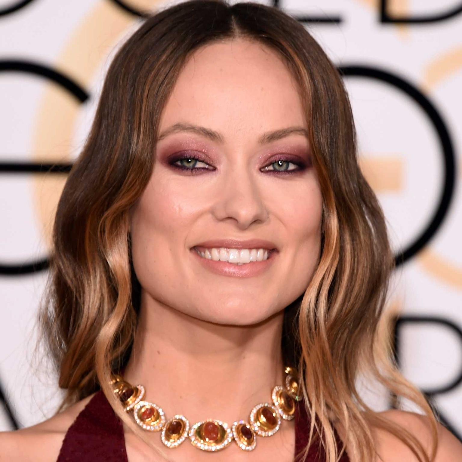 Olivia Wilde wore a vintage Bulgari necklace at the Golden Globes 2016
